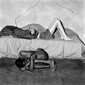 15 Curled Up 1998 290x290 - CAFA Interview丨Roger Ballen: My Photography is Unique