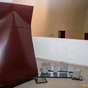 """17 Exterior space of the exhibition the exhibited work 290x290 - """"The Liver"""": What is the Liver of the Artist?"""