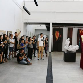 """18 Young Curator Project Wang Jianming and Tan Zhibin """"Intervention – Artist and Chinese Ingenuity 290x290 - Ivy Art 2016: What appearance should young art have?"""