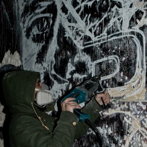 19 Artist VHILS ith his new style of stencil 290x290 - Observing Street Art from a Global Perspective: Interview with Magda Danysz and Artists