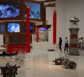31 Qiu Zhijie, Dark Clouds, 2014
