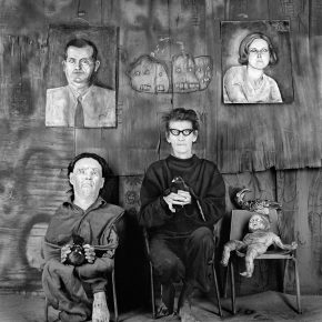 34 Place of the Eyeballs 2012 290x290 - CAFA Interview丨Roger Ballen: My Photography is Unique