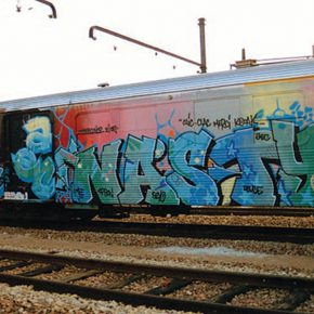 4 Painter train by artist NASTY 290x290 - Observing Street Art from a Global Perspective: Interview with Magda Danysz and Artists