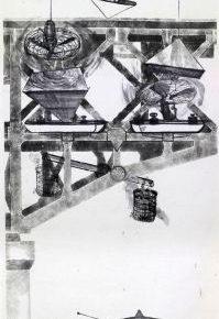 48 Qiu Zhijie, 30 Letters to Qiu Jiawa Do not Lose Your Balance, ink on paper, 190 x 500 cm, 2009
