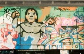 5 Painted subway 290x188 - Observing Street Art from a Global Perspective: Interview with Magda Danysz and Artists