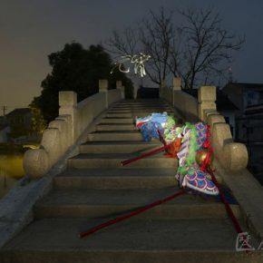 64 Qiu Zhijie, Festival of Lantern Dragon Dance of the Qingpu Stone Bridge
