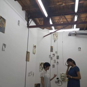 """Exhibition View of""""God's voice human's words""""06 290x290 - Egami Etsu's Solo Show Entitled """"God's voice, human's words?"""" Exhibited at DEHAIRI projects"""