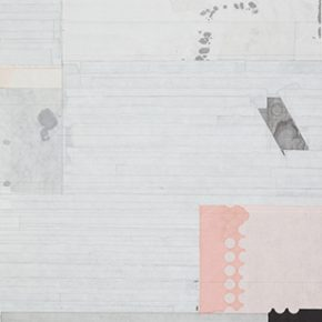 """Liang Quan Early Spring 2014 Xuan paper Tea Ink Color Collage on Paper 90x60cm 290x290 - Soka Art Beijing announces """"Literati Painting from Six Artists"""" to celebrate its 15th anniversary"""