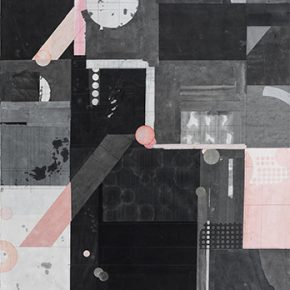 """Liang Quan Untitled 2016 Collage on paper 120x90cm 290x290 - Soka Art Beijing announces """"Literati Painting from Six Artists"""" to celebrate its 15th anniversary"""