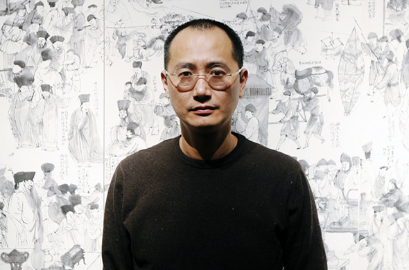 Portrait of Qiu Zhijie