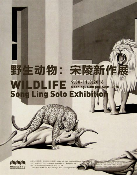 poster-of-wildlife-song-ling-solo-exhibition