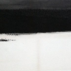 """Wen Fengxuan Lake 1. 2005 Ink on paper 46x70cm 290x290 - Soka Art Beijing announces """"Literati Painting from Six Artists"""" to celebrate its 15th anniversary"""
