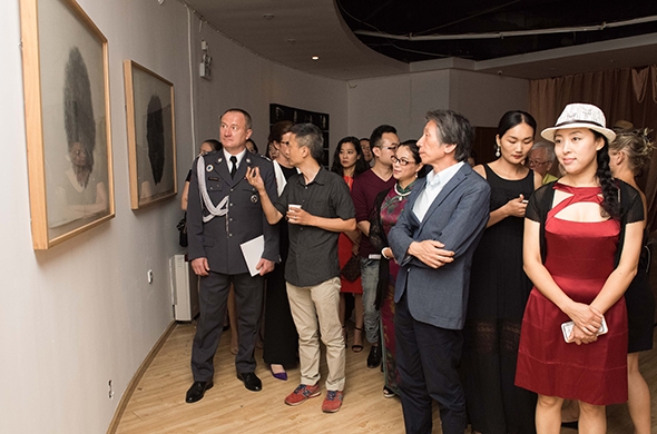 featured image of Exhibition view of the opening ceremony