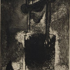 "01 Wiskvlicz Steel Making Furnace monochrome etching 25 × 17 cm 1950 donated print from Prague collected by CAFA Art Museum 290x290 - ""From Woodcut to Printmaking"" CAFA Art Museum Fifth Round of the Collection Series is unveiled"