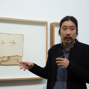"02 Curator Bao Dong 290x290 - Poetic Reproduction: The ""In-between Objects and Shadow: Jiang Ji'an Solo Exhibition"" was unveiled"