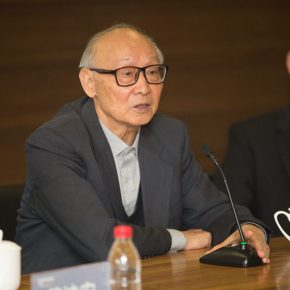 02 Prof. Shao Dazhen from the Central Academy of Fine Arts  290x290 - CAFA launched a press conference to announce Anselm Kiefer Touring Exhibition will open on November 19
