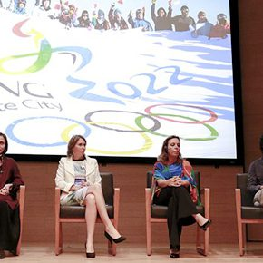 "CAFA Forum 丨Jointly we discuss the Beijing Olympic Winter Games: ""Beijing 2022 Image and Design Conference"" was held in CAFA"