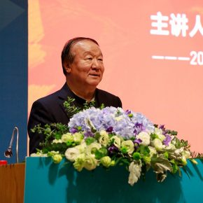 03 Jiang Xiaoyu, Executive Vice Chairman of the Organizing Committee of the 29th Olympic Games, leading the visual design of the 2008 Beijing Olympic Games