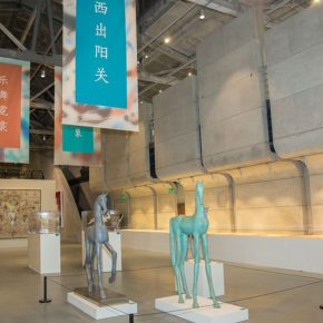 "04 Exhibition view of ""To Dunhuang – Echo of Civilization"" 290x290 - Reproduced Yesterday of ""Dunhuang"": The Creative Context as a Fusion"