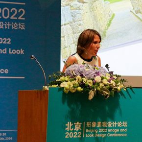"""07 Marie De Cock IOC Brand Management Head of the Business Development Sustainable Development 290x290 - CAFA Forum 丨Jointly we discuss the Beijing Olympic Winter Games: """"Beijing 2022 Image and Design Conference"""" was held in CAFA"""