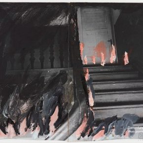 12 Anselm Kiefer The Dead Gods series No.14 photography gouache 80 x 100 cm 1980 290x290 - CAFA launched a press conference to announce Anselm Kiefer Touring Exhibition will open on November 19