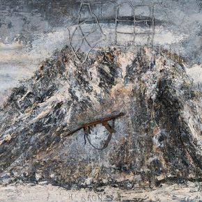 13 Anselm Kiefer God Jesus True God oil painting emulsifiers acrylic items 280 x 380 cm 2011  290x290 - CAFA launched a press conference to announce Anselm Kiefer Touring Exhibition will open on November 19