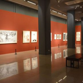 "13 Exhibition view of ""2016 National Exhibition of the Art of Drawing"" 290x290 - Gathering Nine Academies of Fine Arts: ""2016 National Exhibition of the Art of Drawing"""