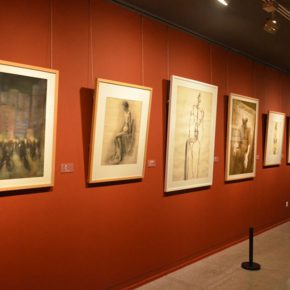 "19 Exhibition view of ""2016 National Exhibition of the Art of Drawing"" 290x290 - Gathering Nine Academies of Fine Arts: ""2016 National Exhibition of the Art of Drawing"""