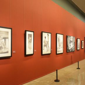 """21 Exhibition view of """"2016 National Exhibition of the Art of Drawing"""" 290x290 - Gathering Nine Academies of Fine Arts: """"2016 National Exhibition of the Art of Drawing"""""""