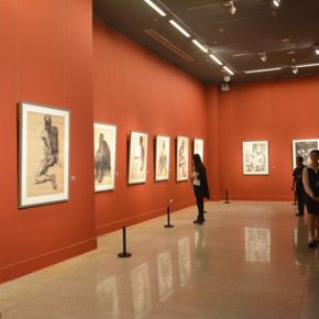 "22 Exhibition view of ""2016 National Exhibition of the Art of Drawing"" 290x290 - Gathering Nine Academies of Fine Arts: ""2016 National Exhibition of the Art of Drawing"""