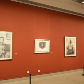"""27 Exhibition view of """"2016 National Exhibition of the Art of Drawing"""" 290x290 - Gathering Nine Academies of Fine Arts: """"2016 National Exhibition of the Art of Drawing"""""""