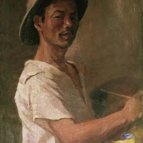 32-qin-xuanfu-wu-zuorens-portrait-oil-on-canvas-56-x-45-cm-1941-in-the-collection-of-nanjing-normal-university
