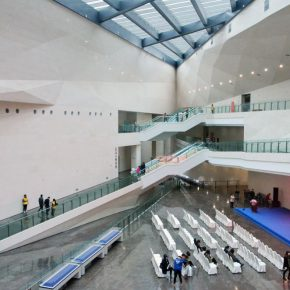 "41 Interior of Taiyuan Art Museum 290x290 - History is Today, the Temperature is High: ""The Temperature of History"" is ending in Taiyuan!"