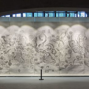 "45 The exhibited work 290x290 - Reproduced Yesterday of ""Dunhuang"": The Creative Context as a Fusion"