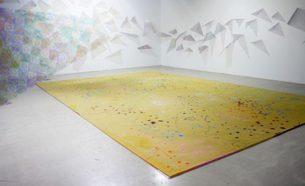 Installation View of Lichens–Zheng Jiang Solo Exhibition