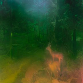 "Ma Sibo Deer in the Forest 2016 300x200cm de Sarthe Beijing 290x290 - de Sarthe Gallery announces Ma Sibo's solo exhibition ""Habitat"" opening on Oct. 15"