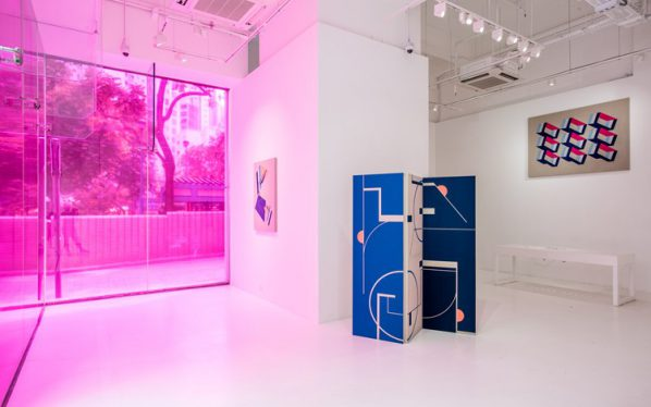 Sinta Tantra, Flatland A Romance of Many Dimensions,2016, Installation view 02, Pearl Lam Galleries, SOHO, Hong Kong. Courtesy Pearl Lam Galleries, SOHO, Hong Kong