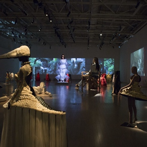 Tim Yip: Reformation remains on view at Power Station of Art in Shanghai till Oct. 23