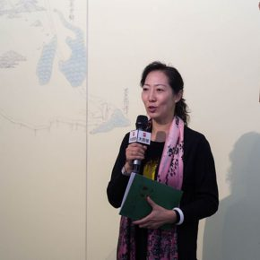 "01 Assistant to the CAFA President Dean of the Academic Affairs Office Wang Xiaolin delivered a speech 290x290 - A Series of Exhibition of Teaching, Creating and Researching: ""Blue Mountains and Ink Shoes – Exhibition of Sketching in Dali, Yunnan"" Opened"