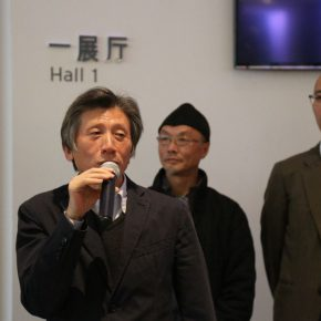 "01 President of CAFA Fan Di'an addressed the opening ceremony 290x290 - Traditional and Contemporary Chinese Art – A Discussion on the Solo Exhibition of Wu Jian'an Starting from ""Omens"""