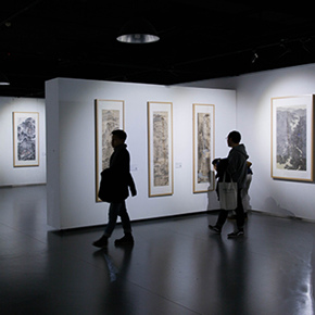 """A Series of Exhibition of Teaching, Creating and Researching: """"Blue Mountains and Ink Shoes – Exhibition of Sketching in Dali, Yunnan"""" Opened"""