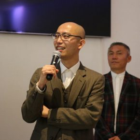 "04 Wu Jian'an addressed the opening ceremony 290x290 - Traditional and Contemporary Chinese Art – A Discussion on the Solo Exhibition of Wu Jian'an Starting from ""Omens"""
