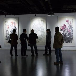 "11 Installation view of the exhibition 290x290 - A Series of Exhibition of Teaching, Creating and Researching: ""Blue Mountains and Ink Shoes – Exhibition of Sketching in Dali, Yunnan"" Opened"