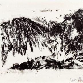116 Qin Xuanfu Dayu Controlled Flooding monoprint 23 × 34 cm 1987 290x290 - Qin Xuanfu