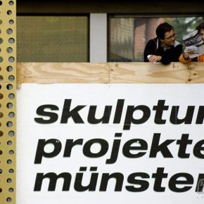 """12 The logo design of the """"Skulptur Projekte Münster 2007"""" that refused a logo  290x290 - The Materiality of the Exhibition: The Relationship between the Perception of Practice and the Concept of Theory"""