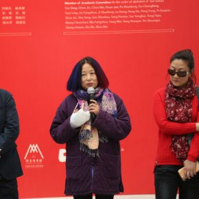 13-the-participating-artist-xiao-lu-addressed-the-opening-ceremony