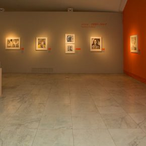 """14 Exhibition view of """"The Exhibition of Prints Donated by Tan Quanshu""""  290x290 - """"An Exhibition of Prints donated by Tan Quanshu"""" commenced: Leading People to """"Take the Straight Road"""" of Art"""
