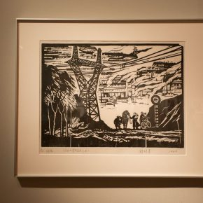 """15 Exhibition view of """"The Exhibition of Prints Donated by Tan Quanshu""""  290x290 - """"An Exhibition of Prints donated by Tan Quanshu"""" commenced: Leading People to """"Take the Straight Road"""" of Art"""