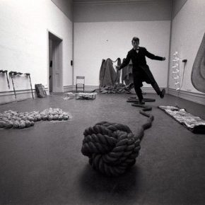 """15 The original exhibition site of """"Live in Your Head. When Attitudes Become Form"""" Bern 1969 290x290 - The Materiality of the Exhibition: The Relationship between the Perception of Practice and the Concept of Theory"""