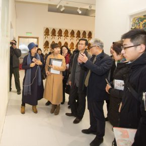 """16 Exhibition view of """"Silk Road · Rock Color"""" 290x290 - """"Silk Road · Rock Color – Illustration of Chinese Rock-Color Painting"""" Opened at the Yan Huang Art Museum"""